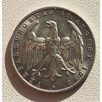 "Германия 3 марки, 1922 3-я годовщина Веймарской конституции ""A"" - Берлин 5-2-11"