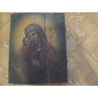 Икона. божья матерь. 19 век