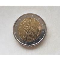 2 евро Финляндия 2016 100 лет со дня рождения Георга Хенрика фон Вригта