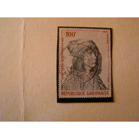 Габон 1978 Авиапочта - 450-летие со дня смерти Альбрехта Дюрера (художник) Живопись