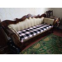 Антикватиат.Мебель. Диван. Бидельмеер. 19й век середина