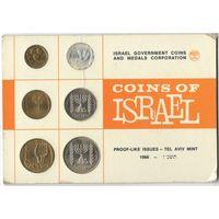 Израиль 1966 год запечатанный унц но монетки внутри уже потускнели