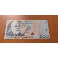 Албания 500 лек 2007 бумажные