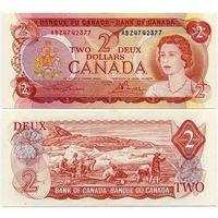 Канада. 2 доллара (образца 1974 года, P86a, UNC)