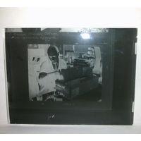 Негатив на стекле фотопластина 1964 г 9х12