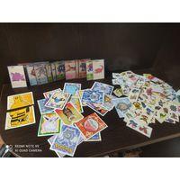 Карточки, наклейки покемон, распродажа коллекции