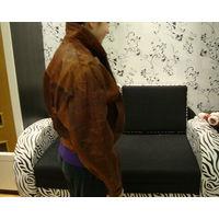 Куртка кожаная, укороченная, подойдет для байка, размер 44-46.Есть др. куртки в моих лотах!