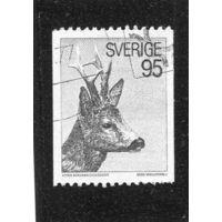 Швеция. Олень. Стандарт 1972