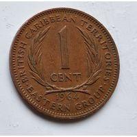 Восточные Карибы 1 цент, 1964 4-8-8