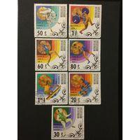 Победители олимпиады в Москве. Монголия,1980, серия 7 марок