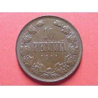 10 пенни 1911 медь