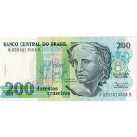 Бразилия, 200 крузейро, UNC