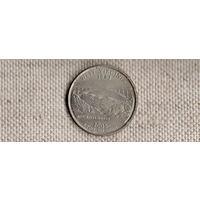 США квотер 25 центов 2005/Западная Вирджиния(Nv)
