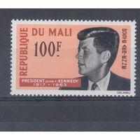 [320] Мали 1964. Политика.Президент Кеннеди. Одиночный выпуск  MH