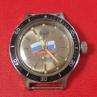 Часы Амфибия Россия, нержавейка, водонепроницаемые