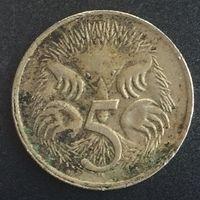 Австралия 5 центов 1973