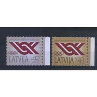Латвия 1992 Спорт Национальный олимпийский комитет MNH