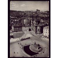 Чехословакия Прага Старый город Трамвай