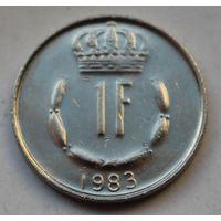 Люксембург, 1 франк 1983 г.