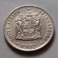10 центов, ЮАР 1972 г.