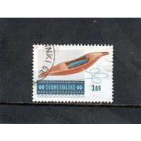 Финляндия.Ми-861.Ткачество Shuttle Drive, Ткачество - фосфоресцирующие.Серия: Народное искусство.1979.