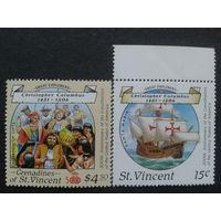 Гренадины 1988 Х. Колумб