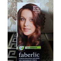 Стойкая крем-краска для волос от Фаберлик без аммиака тон махагон