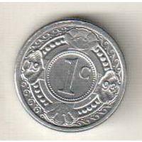 Нидерландские Антильские острова 1 цент 1993