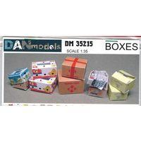 Картонные коробки 6 видов. масштаб 1:35