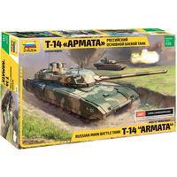 ЗВЕЗДА 3670 - Российский основной боевой танк Т-14 АРМАТА / Сборная модель 1:35