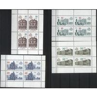 Германия, ГДР 1987 г. Mi#3075-3078KB** чистый малый лист (MNH)