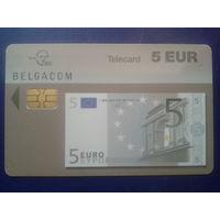 Бельгия банкнота 5 евро