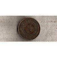 Канада 1 цент 1861/Новая Скотия Шотландия/(Ah)