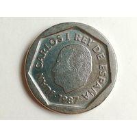200 песет 1987 года. Испания. Монета А2-1-10