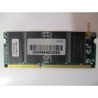 Оперативная память для ноутбука 64Мб Pc100, Hynix hy57v658020b для коллекционеров