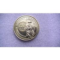"""Польша 2 зл. 1999г """"Вступление Польши в НАТО"""" . распродажа"""