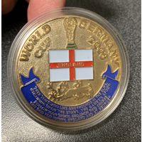 Медаль номерная, Чемпионат Мира Англия. World cup germany 2006 england emblems of distinction!