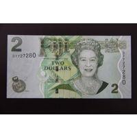 Фиджи 2 доллара 2011 UNC