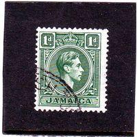 Ямайка.Ми-121. Король Георг VI. 1951.