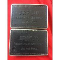 Пряжка для ремня JRF JN Кожа Металл 2 шт