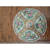 Тарелка Старый Китай Роза