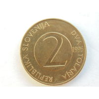 2 толара, Словения 1995 г.