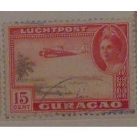 Самолет над островом. Кюрасао. Колония. Дата выпуска: 1942-10-20