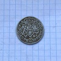 Монета 6 грошей 1681 г. (TLB) Ян Собеский