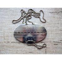 Армейский жетон ЛОЗ личный знак Бундесвер ФРГ Bundeswehr - с рубля!