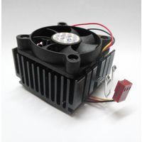 Кулеры для ретро-процессоров Socket-7, Socket-462, Socket-370. (размеры радиаторов 50х50х30мм, 60х60х32мм, вентилятор 50х50х10мм, трёхконтактный разъём для подключения к плате)