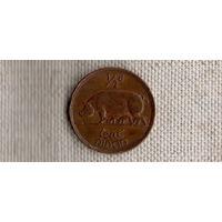 Ирландия 1/2  пол 0,5 пенни 1942  /фауна/(MY)