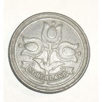 Голландия , Герм. Оккупация 10 Центов 1943 (106)