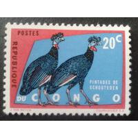 Конго 1960 птицы
