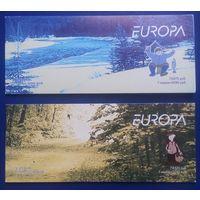 Распродажа! Туризм и отдых (EUROPA),Беларусь, 2004 год, 2 буклета